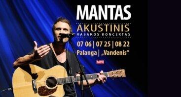 Manto akustinis vasaros koncertas
