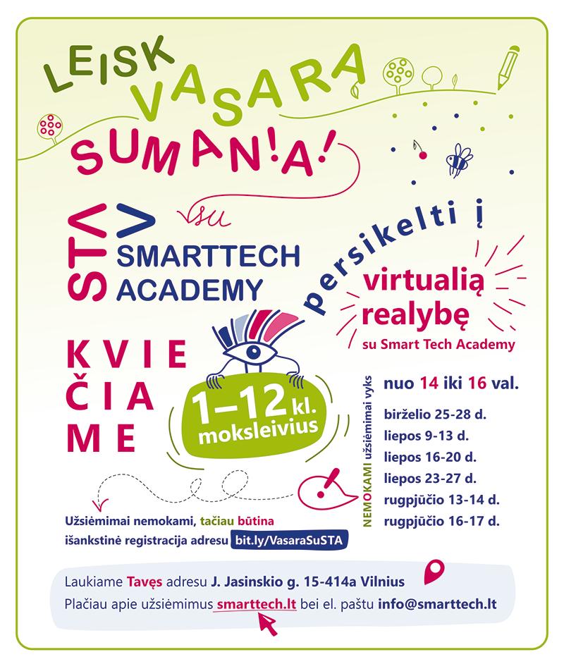 Virtuali realybė 1-12 kl. moksleiviams