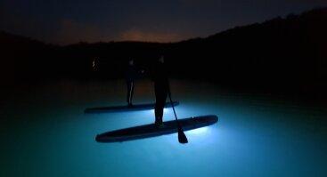 Naktinis irklenčių turas Lampėdžiuose