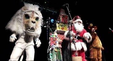 Raganiukės teatras. Sniego liūtas ir Rikiki. Spektaklis vaikams