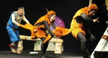 Raganiukės teatras. Indėniukas Kikas. Spektaklis vaikams
