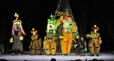 Raganiukės teatras. Skraidantys meškučiai. Spektaklis vaikams