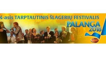 """14-ASIS TARPTAUTINIS ŠLAGERIŲ FESTIVALIS """"PALANGA 2018"""". TRADICIJOS IŠLIEKA"""