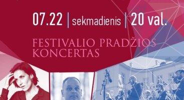 Pasaulio Balsai Festivalio pradžios koncertas