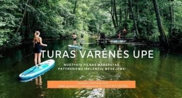Irklenčių turas Varėnės upe