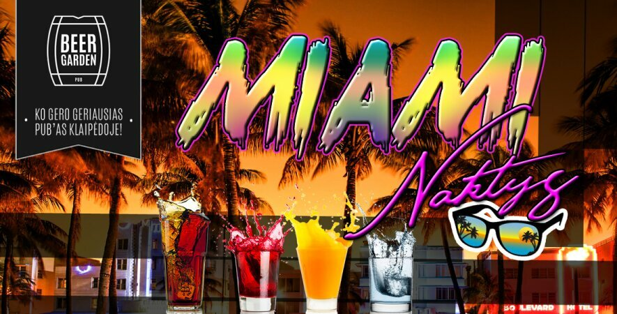 Miami naktys