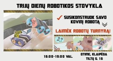 Vasaros robotų kovos