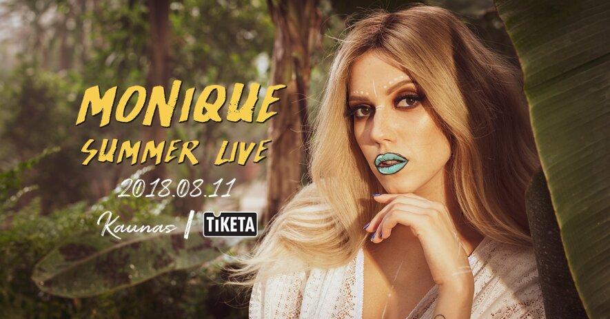 Moniqué: Summer Live