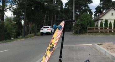 Longboardų ir Urban Paspirtukų nuoma Panemunės šile!