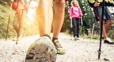 """Nemokamos """"Startwalking.lt"""" šiaurietiško ėjimo treniruotės"""