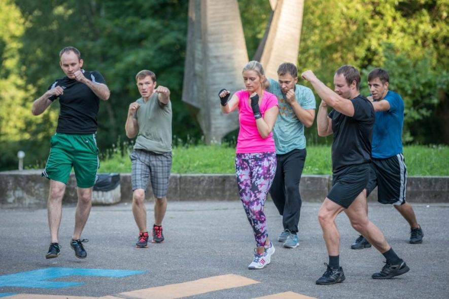 """Nemokamos """"Judėk sveikai"""" bokso treniruotės"""