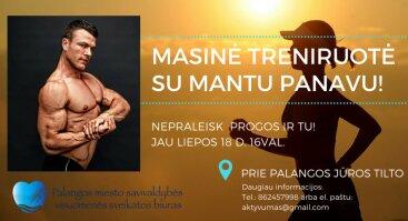 Masinė Treniruotė Su Mantu Panavu
