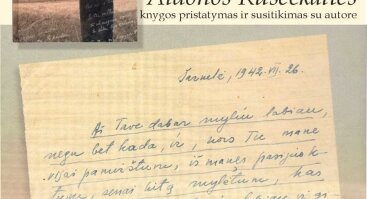 A. Ruseckaitės knygos pristatymas ir susitikimas su autore