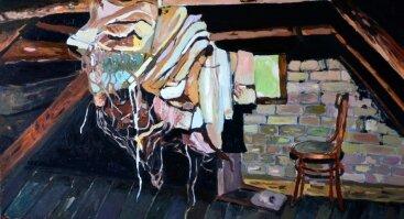"""Antanas Šeronas """"Sugrįžimas"""" (tapyba)"""