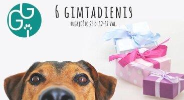 """""""Gyvūnų gerovės iniciatyvos"""" 6 gimtadienis"""