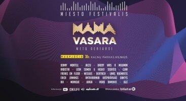 """Miesto festivalis """"MAMA vasara"""""""