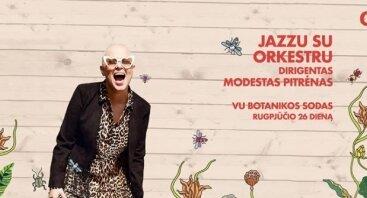 Garden: Jazzu su orkestru