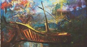 """Edmundo Kartano tapybos paroda """"Paslapties beieškant"""""""
