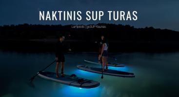 Naktinis irklenčių turas Kaune