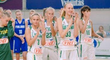 """""""Always"""" Europos jaunučių (U16) merginų A diviziono krepšinio čempionato rungtynės: Lietuva - Rusija"""