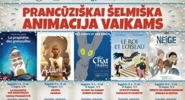 Prancūziškai šelmiška animacija vaikams