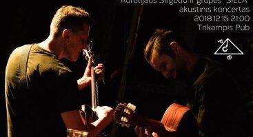 "Aurelijaus Sirgedo ir grupės ""Siela"" akustinis koncertas"