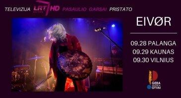 EIVØR koncertas