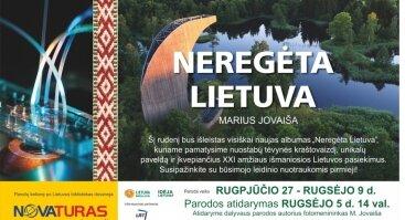 """Mariaus Jovaišos fotografijų paroda """"Neregėta Lietuva"""""""