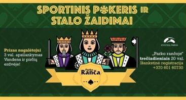 Sportinis pokeris ir stalo žaidimai