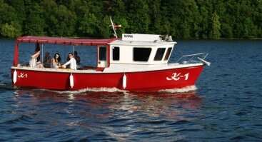 Pasiplaukiojimas laivu K-1 po Kauno marias