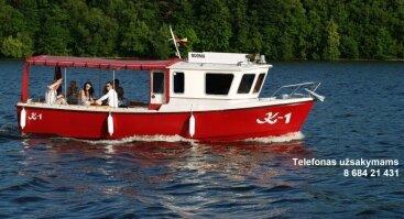 Pramogos laivu K-1 po Kauno marias