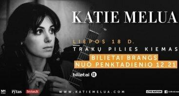 Katie Melua koncertas