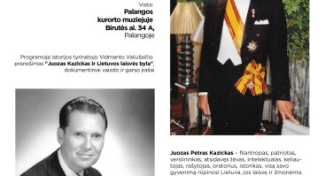 """Parodos """"Dr. Juozo P. Kazicko gyvenimo istorija"""""""