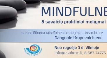 Mindfulness: gyvenimas be emocinio nuovargio