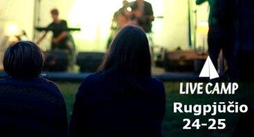 Live Camp 2018 - akustinių gitarų stovykla
