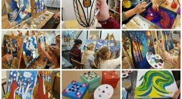 Gimtadienio Šventė, kūrybiškos edukacijos vaikams