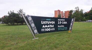 """MUGĖ """"Lietuvos amatai per 100 metų"""""""