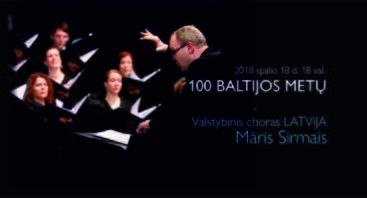 """Koncertas """"100 Baltijos metų"""""""