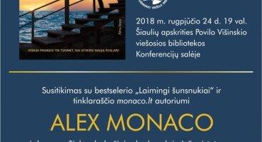 Kviečiame į susitikimą su Alex Monaco