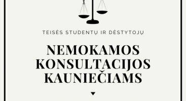 Nemokamos teisinės konsultacijos