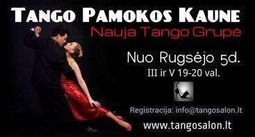 Tango pamokos pradedantiesiems