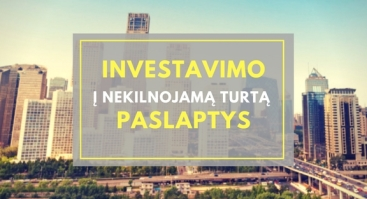 Investavimo į NT paslaptys Klaipėda