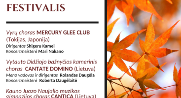 Valstybės atkūrimo šimtmečiui skirtas Japonijos ir Lietuvos chorų festivalis