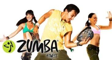 Zumba fitness teniruotės