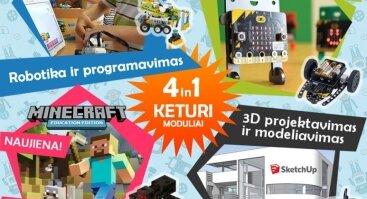 """""""Robotikos ir programavimo"""" užsiėmimai vaikams (Grupė A)"""