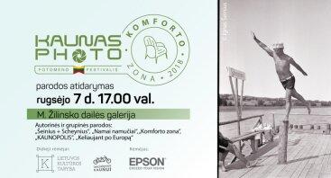 """""""Kaunas Photo 2018"""" parodos M. K. Žilinsko galerijoje"""