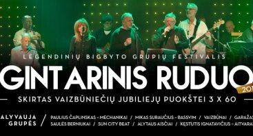GINTARINIS RUDUO 2018, Legendinių bigbyto grupių festivalis