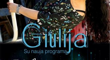 "Giulijos koncertas su grupe ""Combo Band"": Kelionė pas tave"