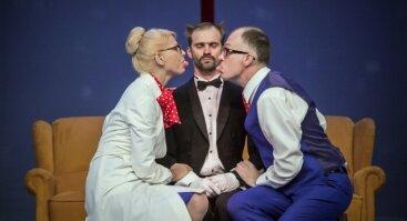 """Juozo Miltinio dramos teatro komedija """"PRANCŪZIŠKOS SKYRYBOS"""""""