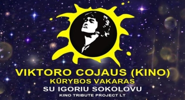 Viktoro Cojaus ( KINO ) kūrybos vakaras su Igoriu Sokolovu